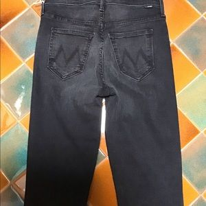 MOTHER Jeans - MOTHER HW RASCAL ANKLE SNIPPET NIGHTHAWK